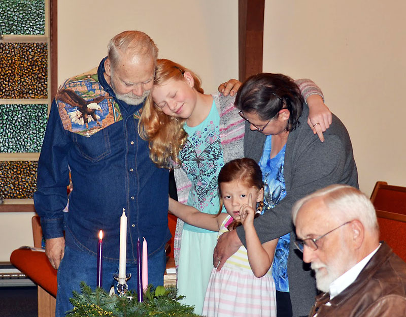 Lighting of the Advent Candle