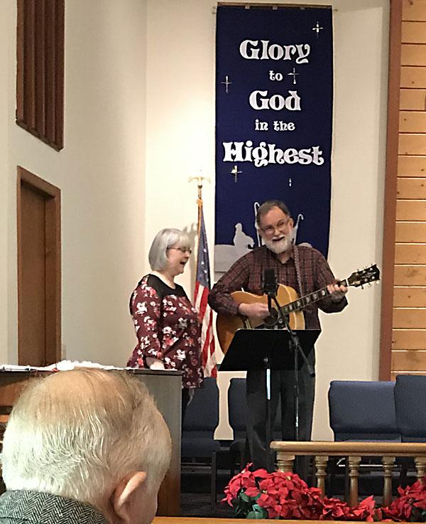 Ed and Joan Singing