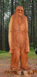Even Bigfoot made it to the picnic!